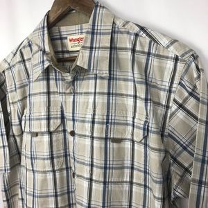 NEW WITH TAGS Wrangler Authentics Shirt Size Large